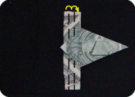 оригами из денег звезда 11