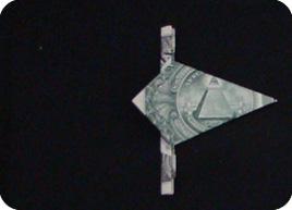 оригами из денег звезда 12