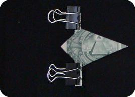 оригами из денег звезда 13