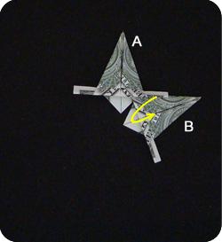 оригами из денег звезда 15
