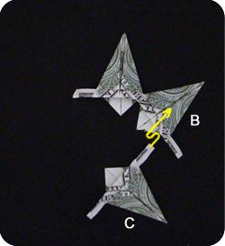 оригами из денег звезда 16