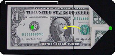 оригами из денег звезда 4
