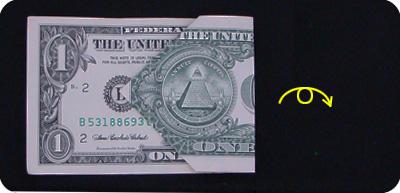 оригами из денег звезда 5