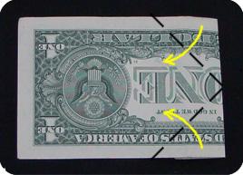 оригами из денег звезда 6