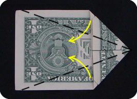 оригами из денег звезда 7