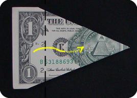 оригами из денег звезда 9