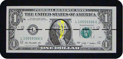 оригами из денег утка 1
