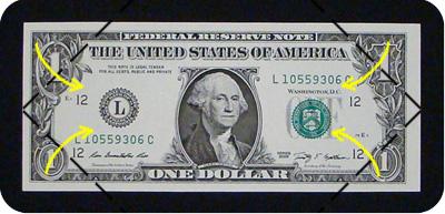 оригами из денег утка 2