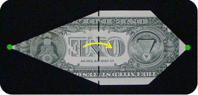 оригами из денег утка 5