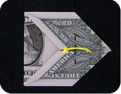 оригами из денег утка 6