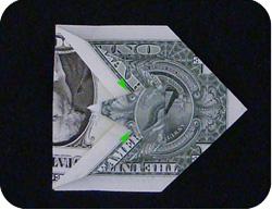 оригами из денег утка 7