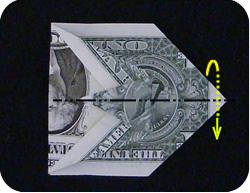оригами из денег утка 8