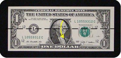 орнамент из денег 1