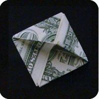 орнамент из денег 23