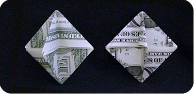 орнамент из денег 24