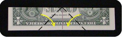 орнамент из денег 3