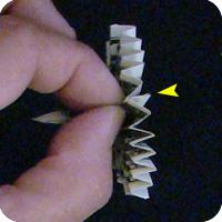 павлин из денег оригами 16