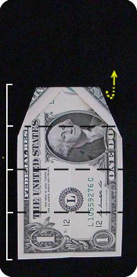 павлин из денег оригами 4