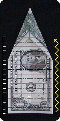 павлин из денег оригами 6
