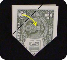 парусник из денег оригами 11