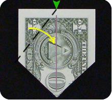 парусник из денег оригами 14