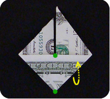 парусник из денег оригами 17