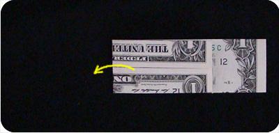 перстень из денег оригами 10