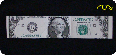 перстень из денег оригами 12