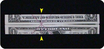 перстень из денег оригами 13