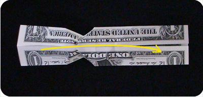 перстень из денег оригами 14