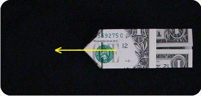 перстень из денег оригами 15
