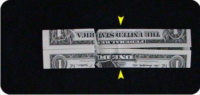 перстень из денег оригами 16