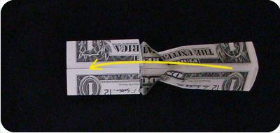 перстень из денег оригами 17