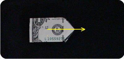 перстень из денег оригами 18