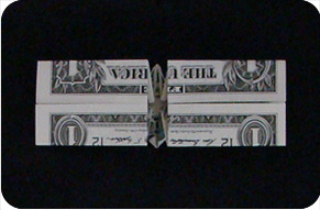 перстень из денег оригами 19