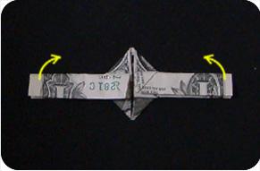 перстень из денег оригами 21