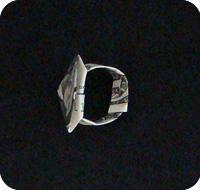 перстень из денег оригами 24