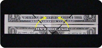 перстень из денег оригами 4