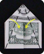 Пирамида из денег своими руками 4