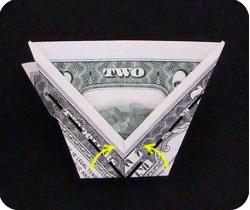 Пирамида из денег своими руками 78