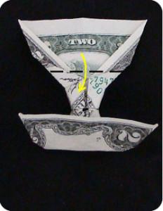 Пирамида из денег своими руками 77