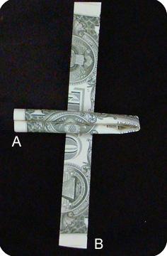 пистолет из денег 13