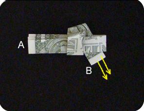 пистолет из денег 7