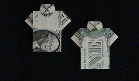 как сделать рубакшу из доллара