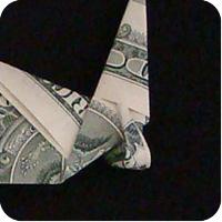 сапоги оригми из денег 14