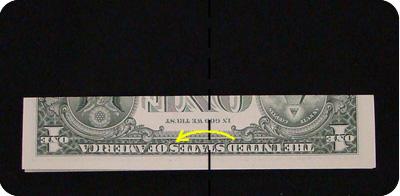 сапоги оригми из денег 2