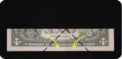 сапоги оригми из денег 4