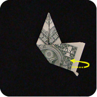 сапоги оригми из денег 9