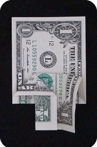 сосна из денег 12