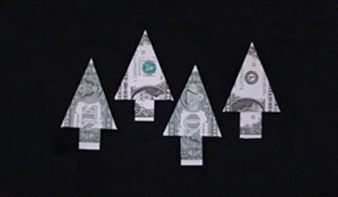 сосна из денег